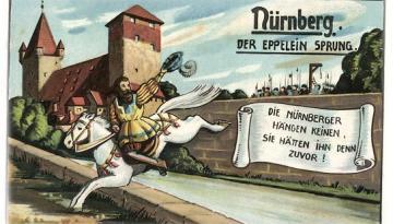 Unsere Legende ums Eppelein`s Festnahme ...