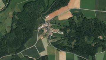 Historische Ortshinweise über Gspannberg unter Topographia Franconiae