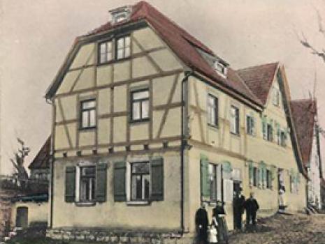 Gruß aus Gspannberg aus dem Jahre 1914