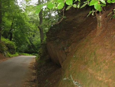 Hohlweg bei Gspannberg