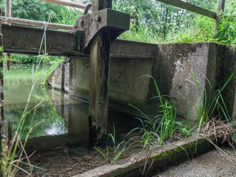 Grundablaß Gspannberg am alten Kanal