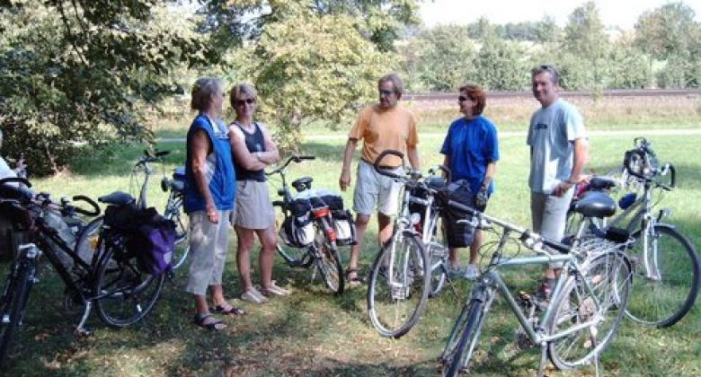 Mit dem Fahrrad durch Gspannberg ...