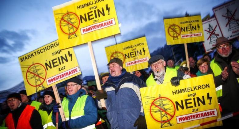 360 Neumarkter unter den 3000 bayerischen Stromtrassen Gegnern